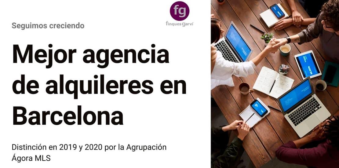 Mejor agencia inmobiliaria de alquileres en Barcelona
