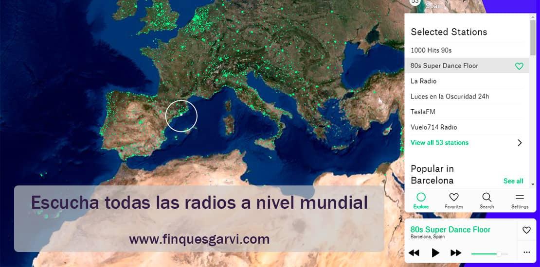 ¿Sabías qué? · Escucha ahora todas las radios a nivel mundial